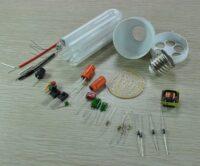 قطعات لامپ کم مصرف و LED