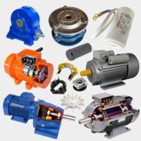 الکتروموتور ، گیربکس ، ترمز و متعلقات
