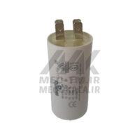 خازن 10 میکروفاراد روغنی - فیشی