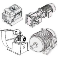 الکتروموتور و تجهیزات صنعتی